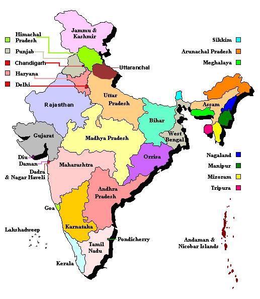 Punjab State in India