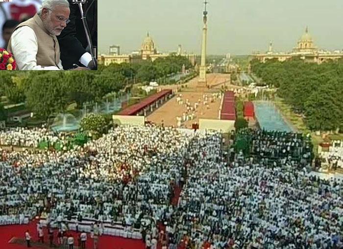 Congratulating the Prime Minister of India Shri Narendra Modi