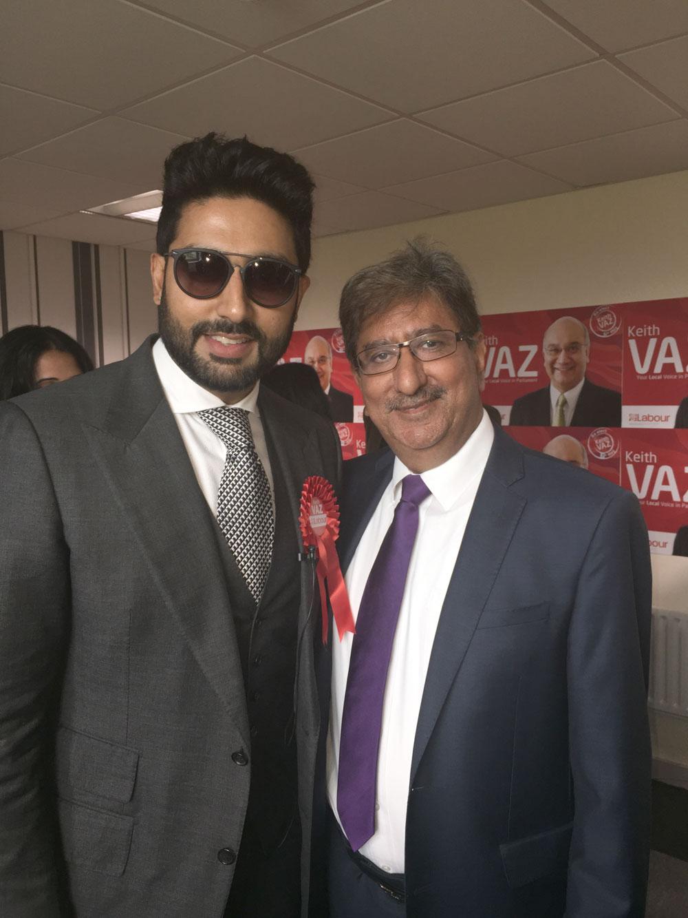 Abhishek Bachchan visits Peepul Enterprise